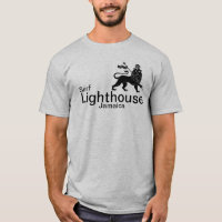 Lighthouse Jamaica surf break shirt. T-Shirt