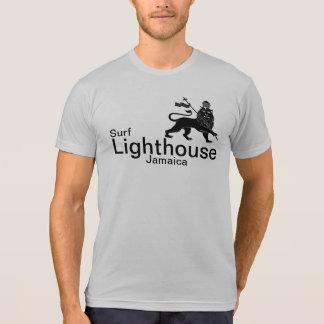 Lighthouse Jamaica surf break shirt.