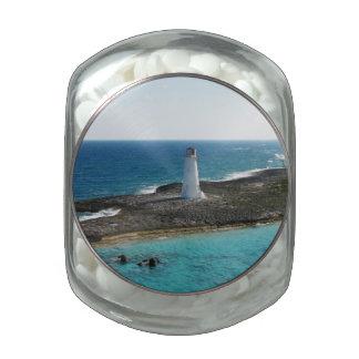 Lighthouse Jelly Belly Candy Jar