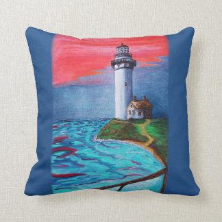 Lighthouse Keeper Throw Pillow