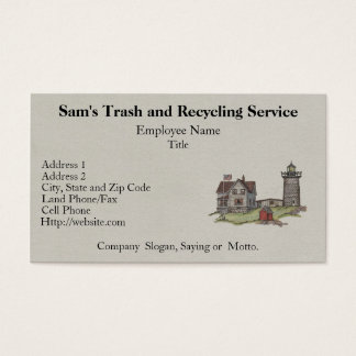 Lighthouse & Keepers House Business Card