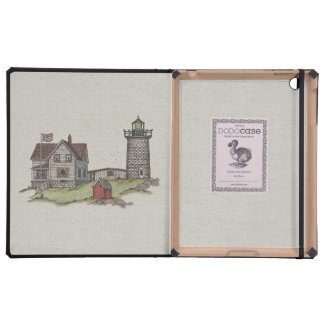 Lighthouse & Keepers House iPad Covers