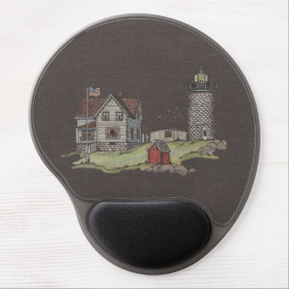Lighthouse & Keepers House Gel Mouse Pad