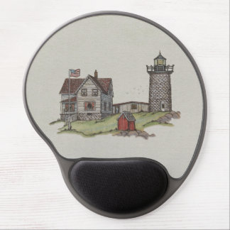 Lighthouse & Keepers House Gel Mousepads