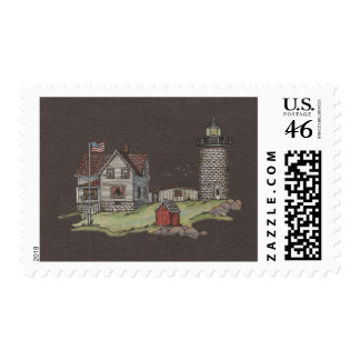 Lighthouse & Keepers House Postage Stamps