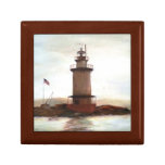 Lighthouse Keepsake Memory Box for Dad Trinket Boxes