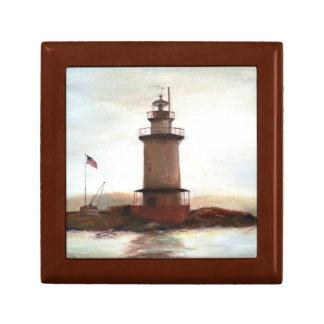 Lighthouse Keepsake Memory Box for Dad Trinket Boxes