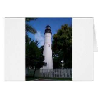 lighthouse_keywest greeting card
