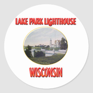 Lighthouse Lake Park Stickers