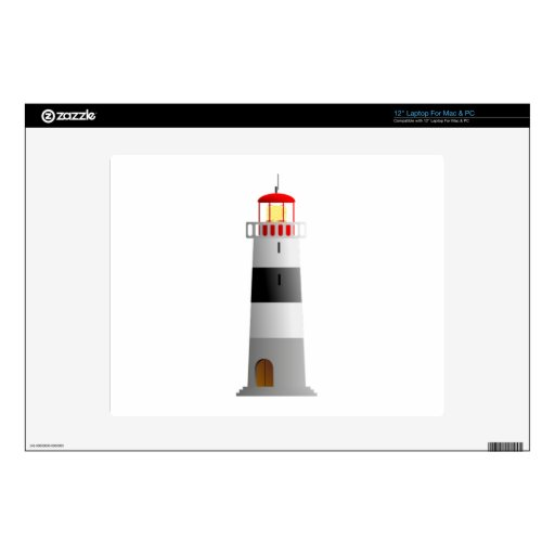 Lighthouse Laptop Decals
