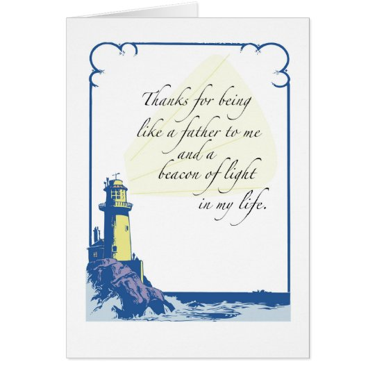 Lighthouse Like a Father, Father's Day Card
