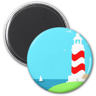 Lighthouse Magnet