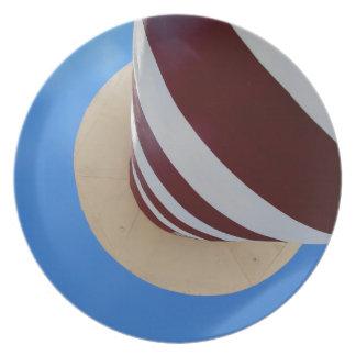 lighthouse melamine plate