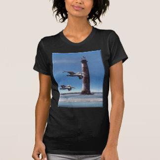 Lighthouse Morris Island Tshirt