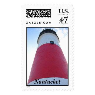 lighthouse, Nantucket Postage