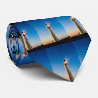 lighthouse neck tie