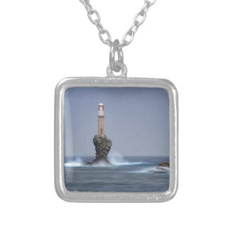 Lighthouse Square Pendant Necklace