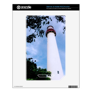 Lighthouse NOOK Color Decals