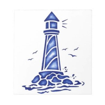 Lighthouse Notepad by CREATIVEBRANDING at Zazzle