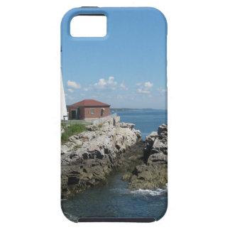 Lighthouse Of Bar Harbor iPhone SE/5/5s Case