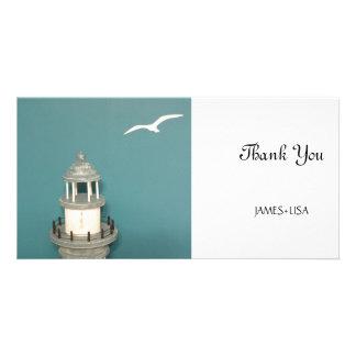 Lighthouse of Greece Photo Card