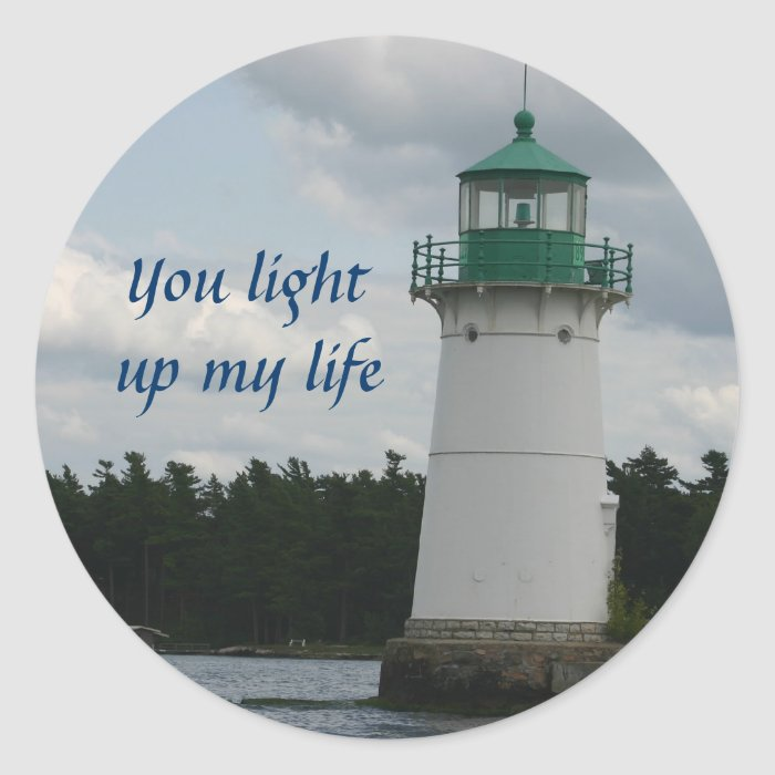 Lighthouse Of Love Sticker