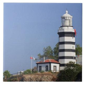 Lighthouse of Sile, Istanbul, Turkey Ceramic Tile