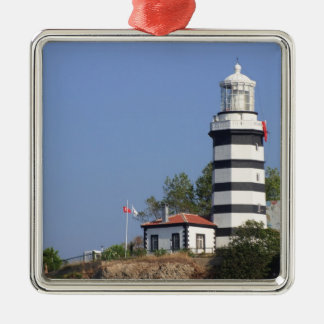 Lighthouse of Sile, Istanbul, Turkey Metal Ornament