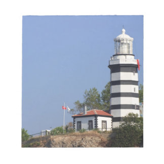 Lighthouse of Sile, Istanbul, Turkey Notepad