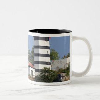 Lighthouse of Sile, Istanbul, Turkey Two-Tone Coffee Mug