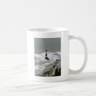Lighthouse off Beachy Head, East Sussex Coffee Mug