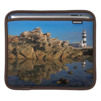 Lighthouse on Cape Recife Sleeve For iPads