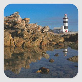 Lighthouse on Cape Recife Square Sticker