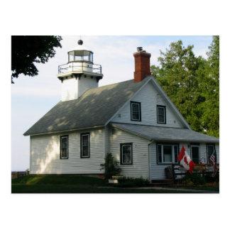 Lighthouse on Grand Traverse Bay Postcard