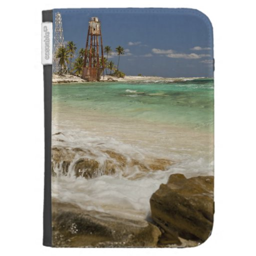 Lighthouse on Half Moon Caye Natural Monument 2 Kindle Case
