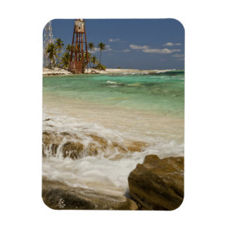 Lighthouse on Half Moon Caye Natural Monument 2 Magnet
