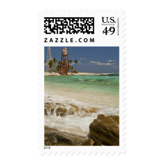 Lighthouse on Half Moon Caye Natural Monument 2 Stamps