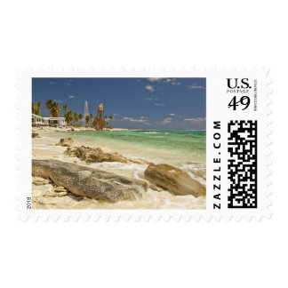 Lighthouse on Half Moon Caye Natural Monument Postage