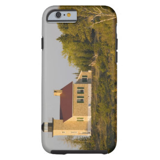Lighthouse on Lake Superior near Copper Harbor iPhone 6 Case