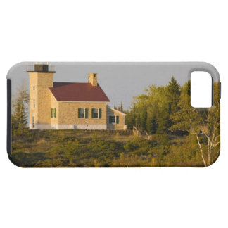Lighthouse on Lake Superior near Copper Harbor iPhone 5 Cover