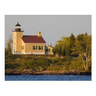 Lighthouse on Lake Superior near Copper Harbor Postcard