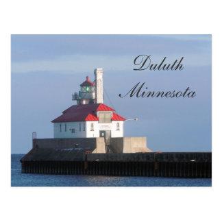 Lighthouse on Lake Superior Postcard
