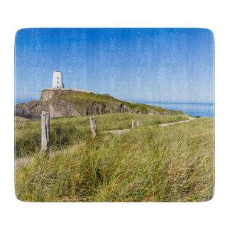 Lighthouse on Llanddwyn Island, Anglesey, Wales Cutting Board