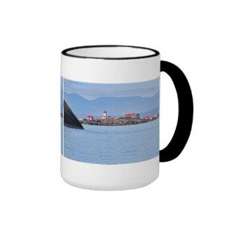 Lighthouse on Merry Island Ringer Mug
