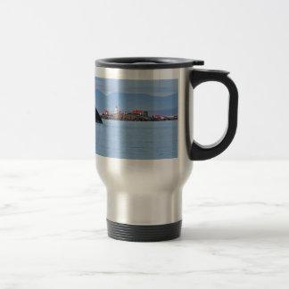Lighthouse on Merry Island Travel Mug