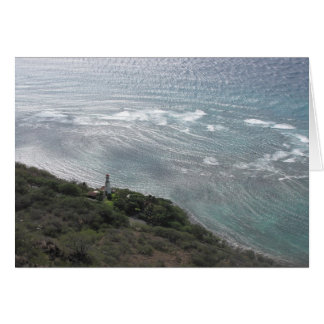 Lighthouse on Oahu Card