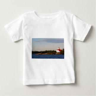 Lighthouse on Shoal Island Baby T-Shirt