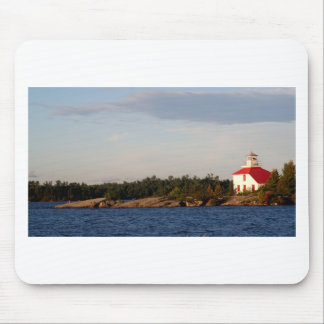Lighthouse on Shoal Island Mouse Pad