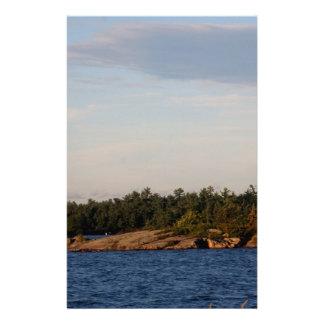 Lighthouse on Shoal Island Stationery