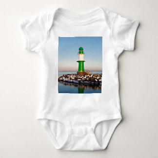 Lighthouse on the Baltic Sea coast Baby Bodysuit